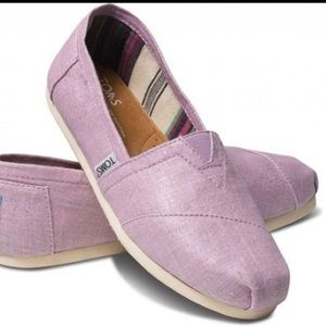 Toms in a Shiny Light Purple